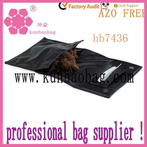 fashion pu leather tobacco pouch