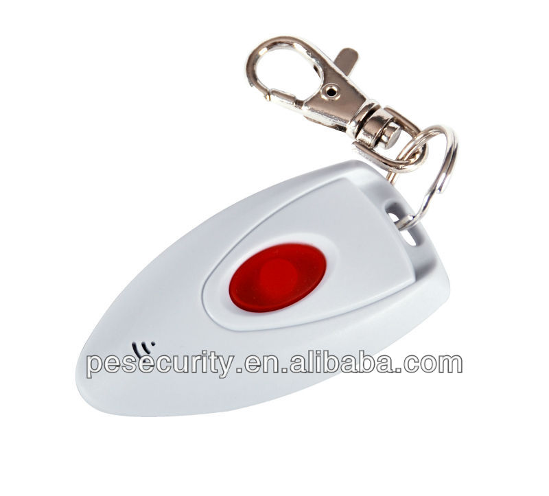 2016 Wireless panic button PB-201R for home security alarm system with mini design