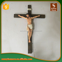 Polyresin Religious Statues Jesus Statues With Cross