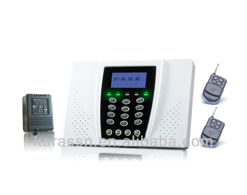 Calling SMS Alarm Jammer for House Security System