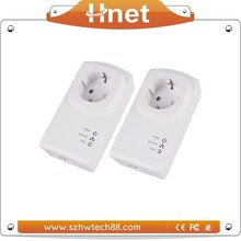500M Passthrough Homeplug Powerline Network Adapter from China