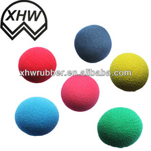 high quaity hot sale sponge rubber dog toy ball 2013