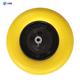 Yellow 4.00-8 PU foam filled rubber tires for garden cart Toy cars