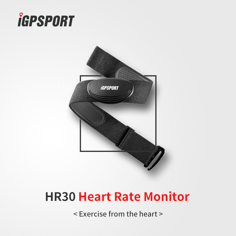 racing bicycle accessories IPX6 bluetooth heart rate monitor chest strap