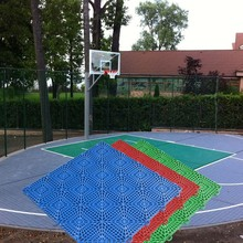 New Arrival First Grade plastic outdoor basketball court floor