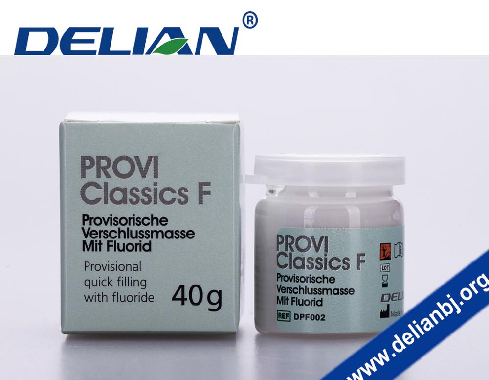 PROVI CLASSICS F Provisional quick filling with Fluoride Temporary Dental Filling Material