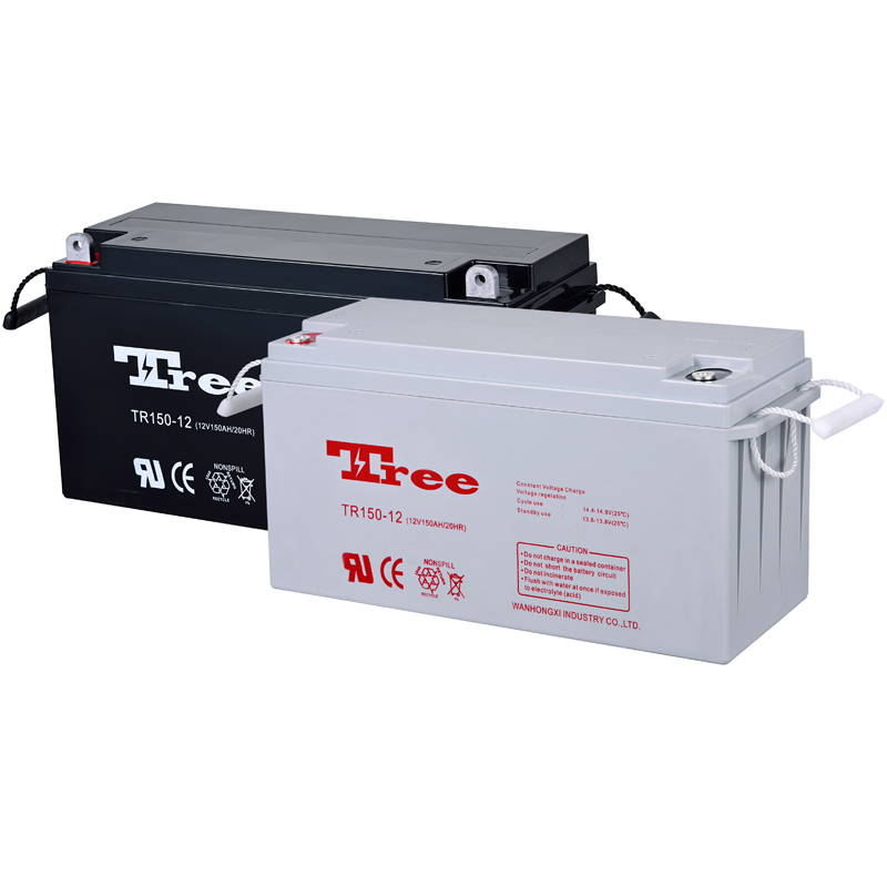 free maintenance deep cycle battery12v150ah solar baterry 135ah 150ah coupound solar cell