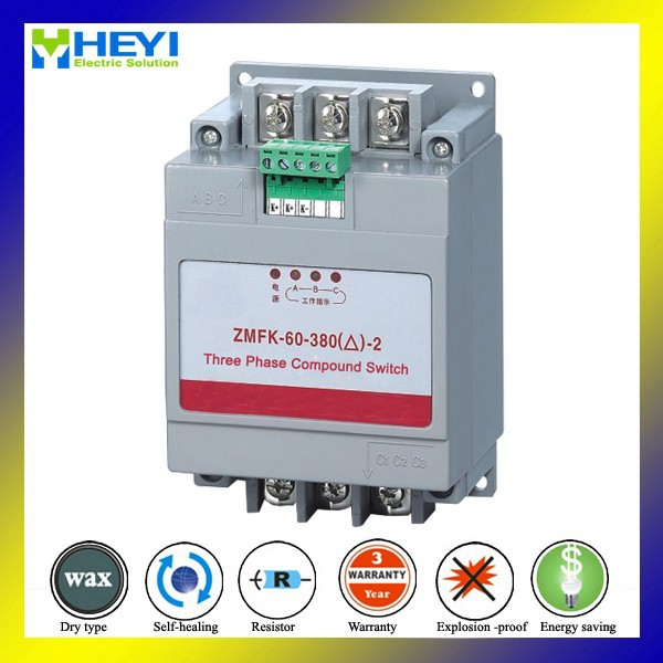 Thyristor Power Controller Match for Power Capacitor 380V 30kvar compound switch with thyristor component