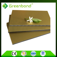 Greenbond manufactured home wall aluminum composite panels acp