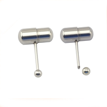 China factory surgical steel battery personalized wholesale vibrating tongue rings