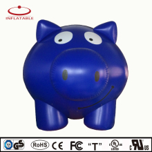 Event decoration inflatable pig with PVC material , helium balloon