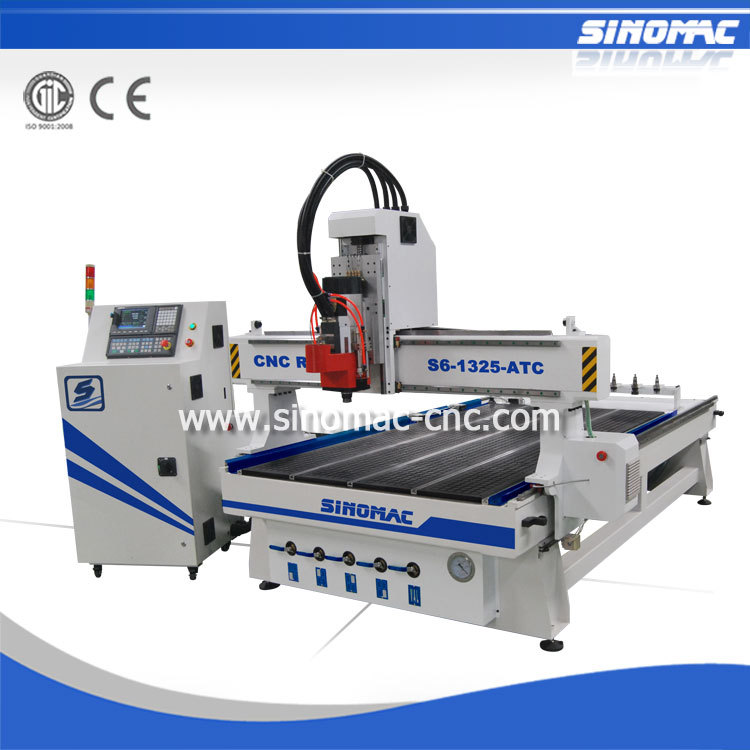 Wood CNC Router Copy Sinomac S6-B-1325-ATC CNC Machining Centre