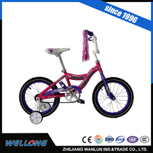 2016 Best selling baby bike for sale bmx 4 Wheel Kids Cycling 12 inch small bike for children