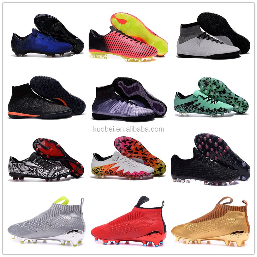 hot selling newest design indoor soccer boots for men, football shoes free shipping