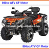 ATV 800cc ATV with snow plough fully automatic CF moto EEC COC available for Europe
