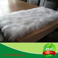 mongolian lamb fur blanket mongolian sheep fur made in china