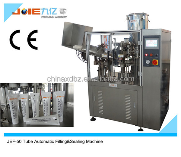 laminated plastic tube filling machine JEF-60