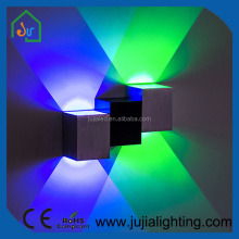 Living room bedroom wall light High quality Indoor LED wall light cube drawing technology shine up and down wall light