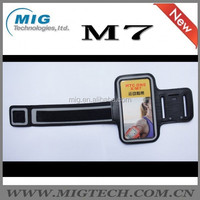 For HTC armband Running Jogging Gym Armband Cover Holder For Mobile phone, For HTC one M7 armband