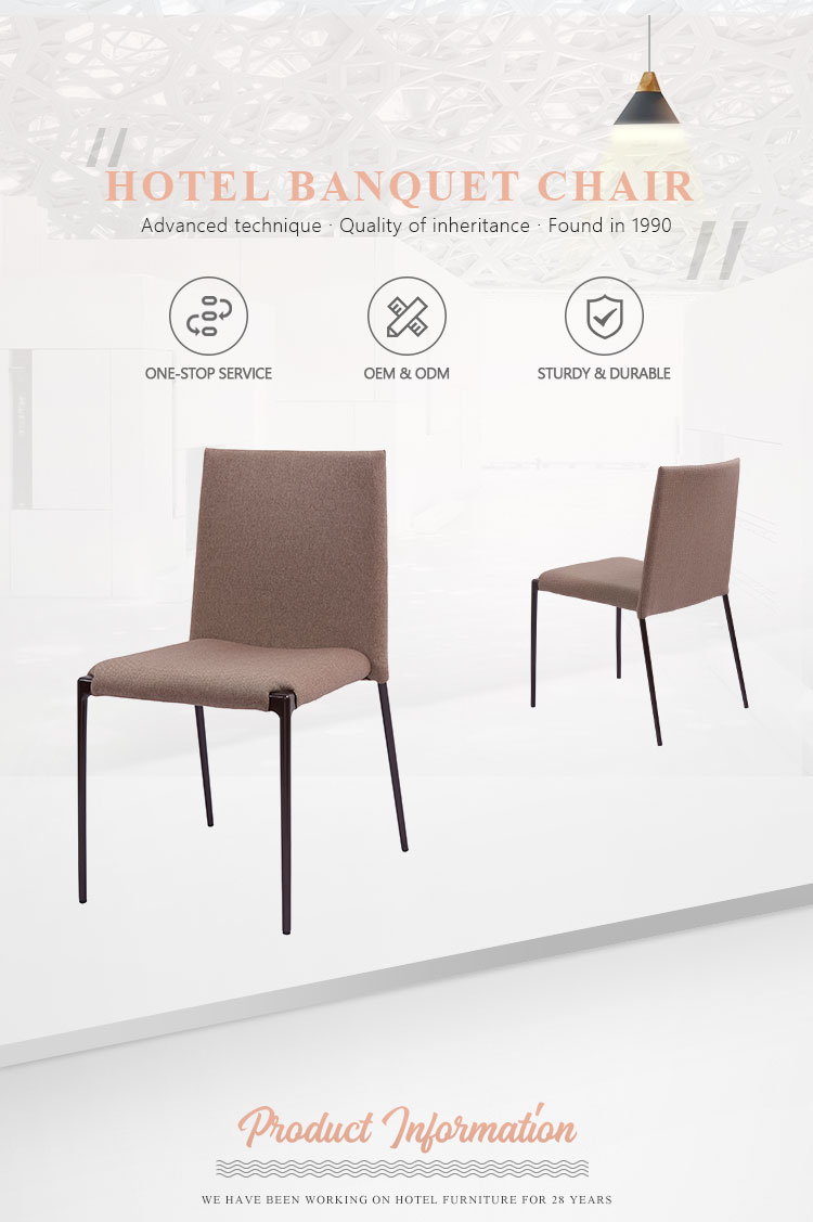 Guangzhou high quality hotel resort customize aluminum stacking banquet chair for sale