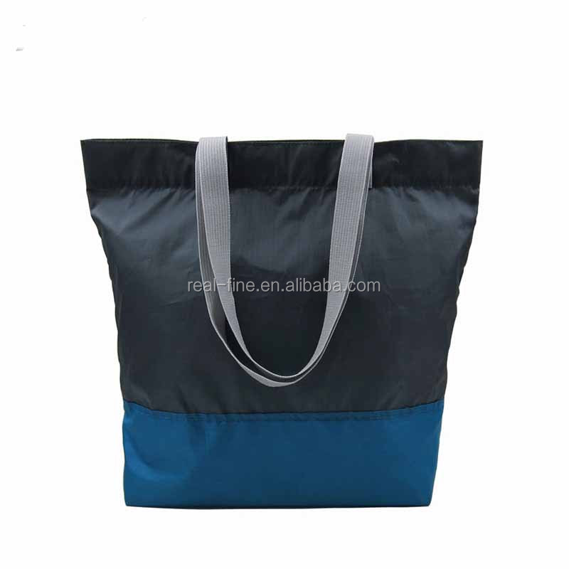 1 Piece fabric bags recycle PET eco reusable shopping bag Foldable Grocery folding shopping tote