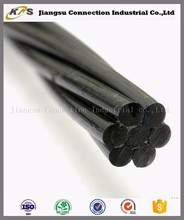Post tensioning 7 single wire 1860MPa prestressing steel strand price