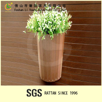 Durable and Best Selling Products Wooden Flower Pot Planter/Garden Planter for Sale/Colors Customized Round Flower Pot LG10-1028