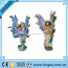 Wholesale Garden Decoration,Resin Angel Figures 3d sexy fairy girl