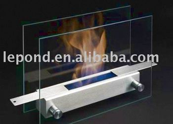 hot offer borosilicate fireplace glass door