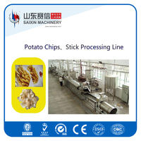 2016 hot sell french fries potato chips making machine from saixin manufacturer