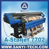 A-Starjet 7702 --- with Epson DX7 Printer / Eco Solvent Printer / Flex Banner Printer