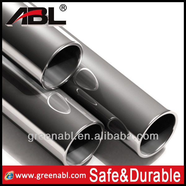 2015 Hot sale 304 stainless steel large diameter black pipe in high quality
