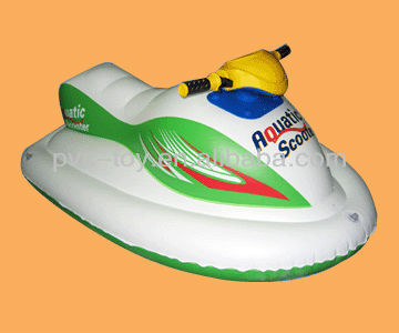 pvc inflatable water motorcyle for water sports