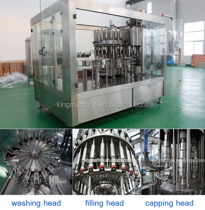 Fully Automatic Plastic Bottle Water Filling Bottling Production Line