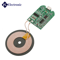 High quality Customized 12v battery charger pcb board, wireless charger pcba 10w