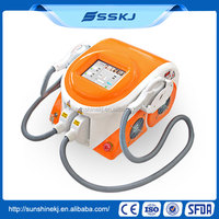 Imported lamp portable 3000w IPL SHR 1-10hz epilight hair removal machine