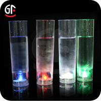 2015 Hot Selling New Brand Flashing Led Juice Glass For New Year