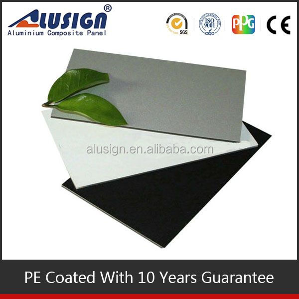 Alusign granite powder fireproof b1 core coating aluminium composite panel acp