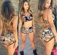 2015 Swimwears Triangle Women's Summer Sexy Swimsuit Bath Suit Push Up Bikini set JH-YY-116