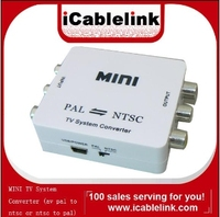 Mini PAL to NTSC/NTSC to PAL TV Video Converter