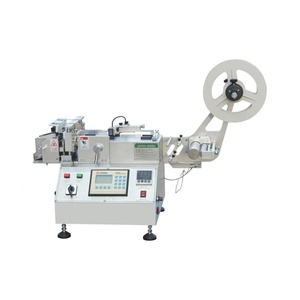 (JQ-3012 Model) Superfast Hot and Cold Small Label Cutting Machine for Polyester Satin / Nylon Taffeta / Woven Cotton / Paper