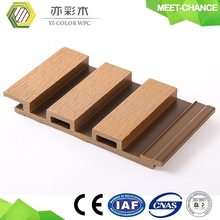anti-uv wpc decorative wood carving wall panel board