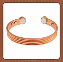 High Quality Copper Bracelet Magnetic Bangle With 6 High Power Magnets Magnetic Therapy Jewellery,Pain Relief,Enhance Sleep