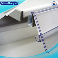 Customed Plastic Shelf Price Label Holders