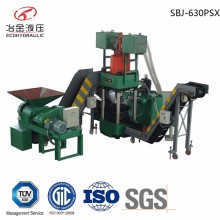 electric hydraulic briquetting press