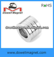 permanent axially diametrically magnetized ring magnets