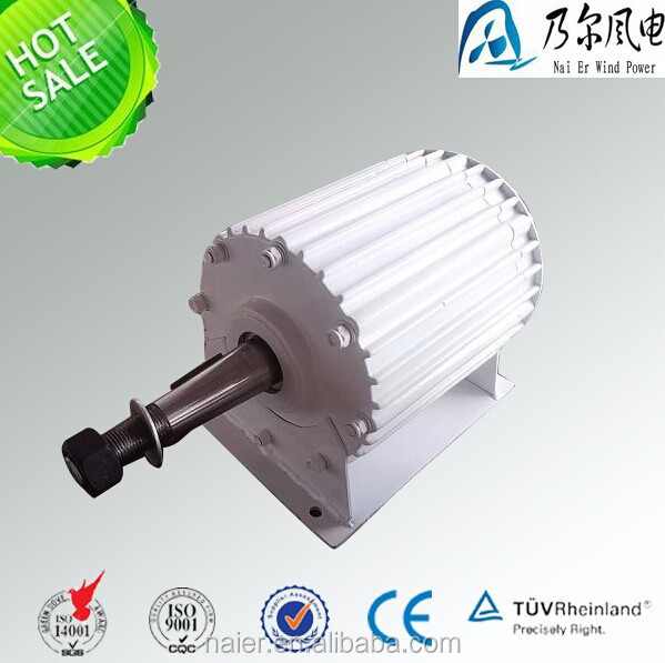 2kw low RPM AC magnetic generator for water turbine
