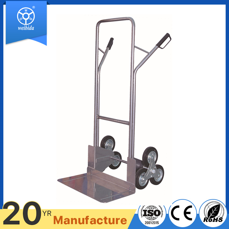 WBD industrial load 200kg stair hand truck , trolly with climb stair