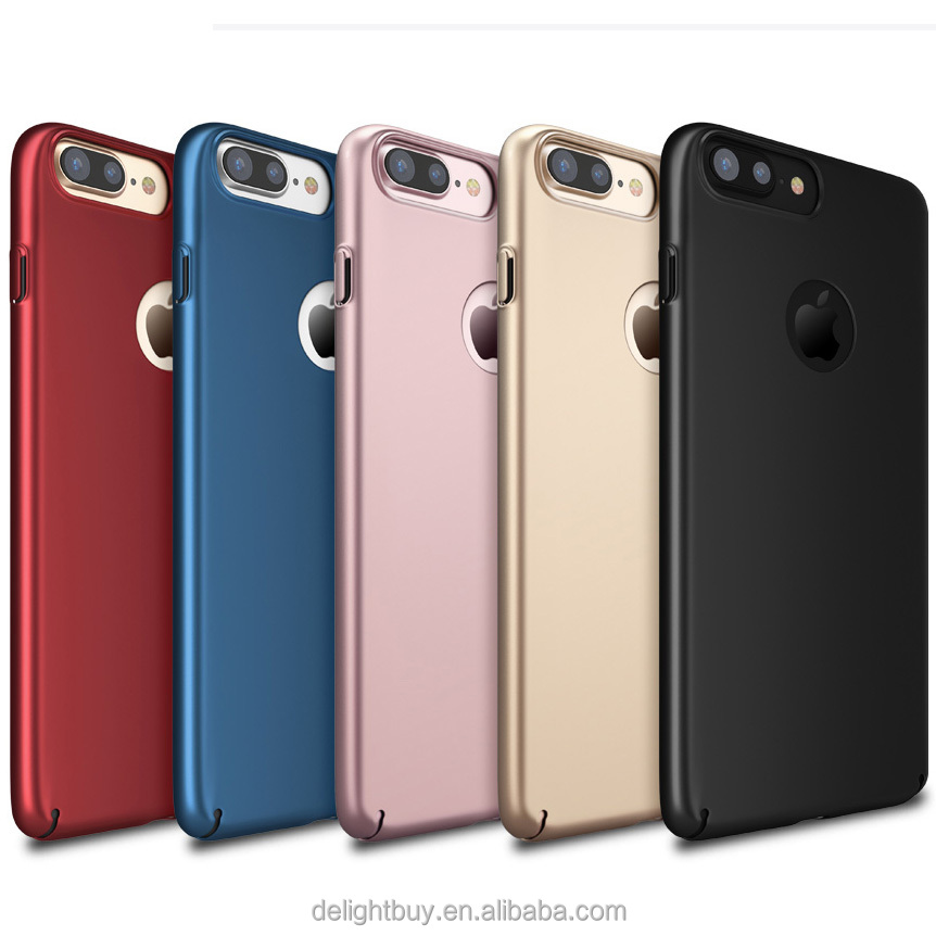 for <strong>iPhone</strong> 7 plus Case, Protective Case Hard Back Matte Cover PC with Shock Absorbing Anti-Scratch Slim thin Case