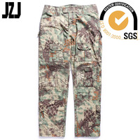 best sell cotton combat camouflage cargo training pants